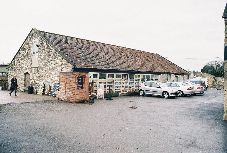 Newton farm shop; the definition of local.